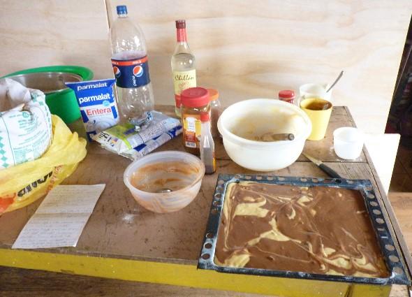 In st cke schneiden mit staubzucker und zimt bestreuen - Eier kochen ohne anstechen ...